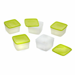 Arrow Home Products 00042 Freezer & Storage Container, 1-Pt., 5-Pk.