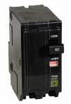 Square D By Schneider Electric QO260C 60A Double-Pole Circuit Breaker