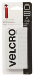 Velcro Usa Consumer Pdts 90200 Industrial Strength Strips, White, 4-In. x 2-In., 2-Ct.