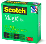 3M 810 1/2'' x 36YD Scotch Magic Transparent Tape