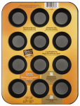 World Kitchen 1114367 Non-Stick Mini Muffin Pan, 12-Cup