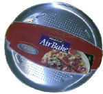 Bradshaw International 84780 AirBake Pizza Pan, Perforated, 15-3/4-In.