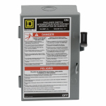 Square D L221N 30A Light Duty Safety Switch