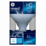 G E Lighting 48692 Reveal Reflector Flood Light Bulb, R30, 65-Watt