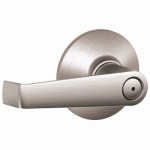 Schlage Lock F40CSVELA626 Satin Chrome Elan Privacy Lockset
