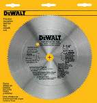 Dewalt Accessories DW3526 7.25-In. 140-TPI Plywood-Cutting Blade
