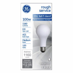 G E Lighting 47261 100-Watt  Rough Service Light Bulb