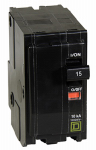 Square D By Schneider Electric QO215C QO 15-Amp Double-Pole Circuit Breaker