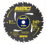 Irwin Industrial Tool 24130 7-1/4 Inch Carbide-Tipped Marathon Blade