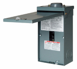 Square D By Schneider Electric QO2100NRBCP QO 100-Amp Rainproof Enclosed Circuit Breaker