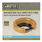 William H Harvey 004310 No. 3 No-Seep Wax Toilet Gasket