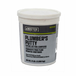 William H Harvey 043015 Plumber's Putty, 14-oz.
