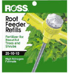 Easy Gardener 13610 Tree & Shrub Feeder Refill, 25-10-10, 12-Pk.