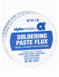 Alpha Metals AM51012 2-oz. Non-Electrical Leaded Acid Paste, Flux & Brush