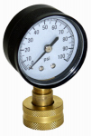 Water Source WSPHG100 Water Pressure Test Gauge, 100 PSI
