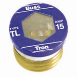 Cooper Bussmann BP-TL-15 Plug Fuse, Type TL, Time Delay, 15-Amp, Must Purchase 3-Pk. In Quantities of 5