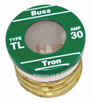 Cooper Bussmann BP/TL-30 Plug Fuse, Type TL, Time Delay, 30-Amp, Must Purchase 3-Pk. In Quantities of 5