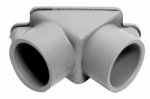 Thomas & Betts E990ER-CAR Electrical PVC Pull Elbow- 3/4""
