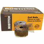 Stanley Bostitch C8R99BD Coil Siding Nail, 2.5 x .090-In. Galvanized Ring Shank, 3,600-Pk.