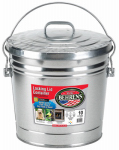 Behrens 6110 10-Gallon Galvanized Steel Trash Can