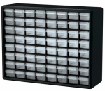 Akro Mils 10764 Small Parts Storage Cabinet, 64-Drawers