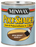 Minwax The 61450 1-Qt. Gloss Royal Walnut Polyshades Wood Stain