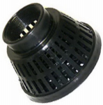 Pacer Pumps Div Of Asm Ind P-58-0733 Pump Suction Strainer, Polyethylene,  2-In. FNPT