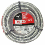 Afc Cable Systems 5502-22-AFC 1/2-Inch x 25-Ft. FSC Greenfield Flexible Steel Conduit