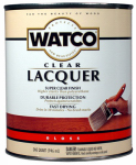 Rust-Oleum 63041 Lacquer Wood Finish, Clear Gloss, 1-Qt.