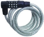 Master Lock 8114D 6-Ft. Bike Cable With Combination Barrel Lock