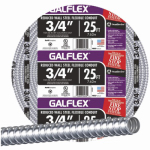 Afc Cable Systems 5503-22-AFC Reduced Wall Steel Conduit, 3/4-In. x 25-Ft. Coil