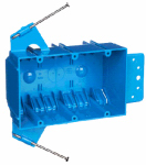 Thomas & Betts B344AR-UPC 3-Gang New Work Switch & Outlet Box