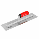 Goldblatt Industries G06943 16-Inch High Carbon Steel Flat Finish Trowel