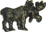 Sierra Lifestyles SL-681449 Cabinet Pull, Moose, Bronzed Black