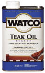 Rust-Oleum A67141 Watco Qt. Teak Oil Finish