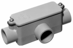 Thomas & Betts E983D-CTN PVC Access Fitting, Type T, 1/2-In.