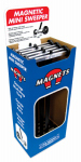 Master Magnetics 07263DSP Magnetic Mini Sweeper, 14-1/2-In.