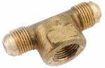 Anderson Metals 54058-080808 1/2 x 1/2-Inch Female Pipe Thread Brass Flare Tee