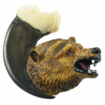Sierra Lifestyles SL-681361 Grizzly Bear on Claw Cabinet Knob