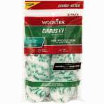 Wooster Brush RR306-4 1/2 Jumbo-Koter Super Twist Paint Roller Covers, 4.5-In., 2-Pk.