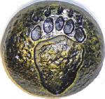 Sierra Lifestyles SL-681392 Bear Track Cabinet Knob, Bronzed Black