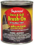 Imperial Mfg Group Usa CH0134 16-oz. Black Stove/Grille Brush-On Paint