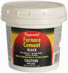 Imperial Mfg Group Usa KK0077-A 8-oz. Black Furnace Cement