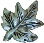 Sierra Lifestyles SL-681321 Maple Leaf Cabinet Knob, Pewter