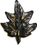 Sierra Lifestyles SL-681213 Maple Leaf Cabinet Knob, Bronzed Black
