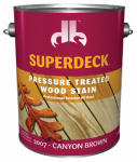 Duckback DP-2007-4 GAL Brown Pressure Treated Decking Stain