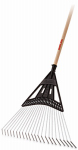 Ames Companies The 163116800 Superflex 22-Steel Tine Lawn Rake With 48-Inch Handle