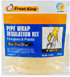 Thermwell Products SP46 6-Inch x 25-Ft. Fiberglass Pipe Wrap Insulation Kit