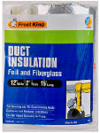 Thermwell Products SP55 Fiberglass Duct-Wrap Insulation, 12 x 2-In. x 15-Ft.