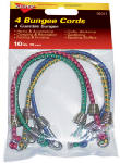 Hampton Products-Keeper 06051 Mini Bungee Cord, 4-Pack, 10-Inch